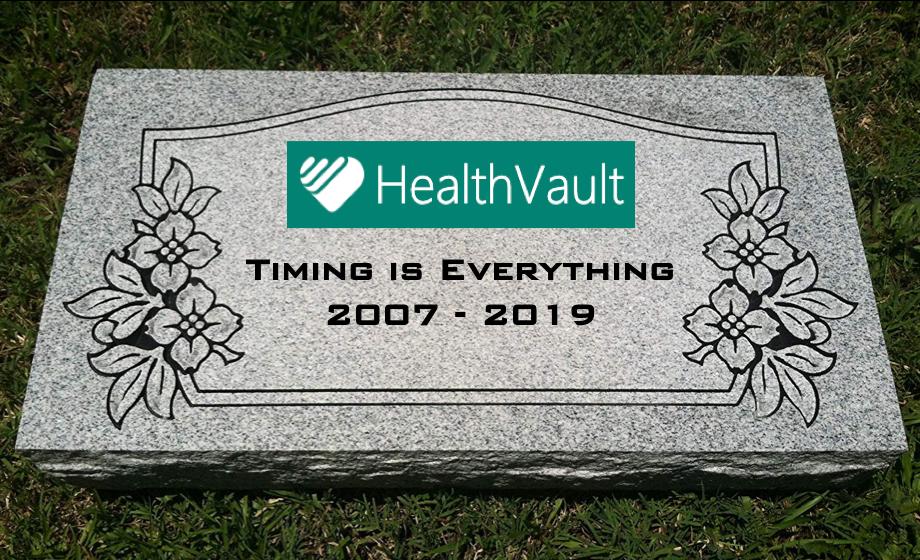 HealthVault's Demise — No Surprise