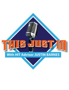 This Just In with HIT Advisor Justin Barnes podcast logo