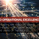 AI for operational excellence - logistics highway with data feeds